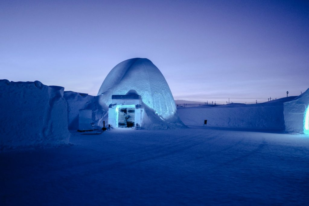 Hotels Made of Ice
