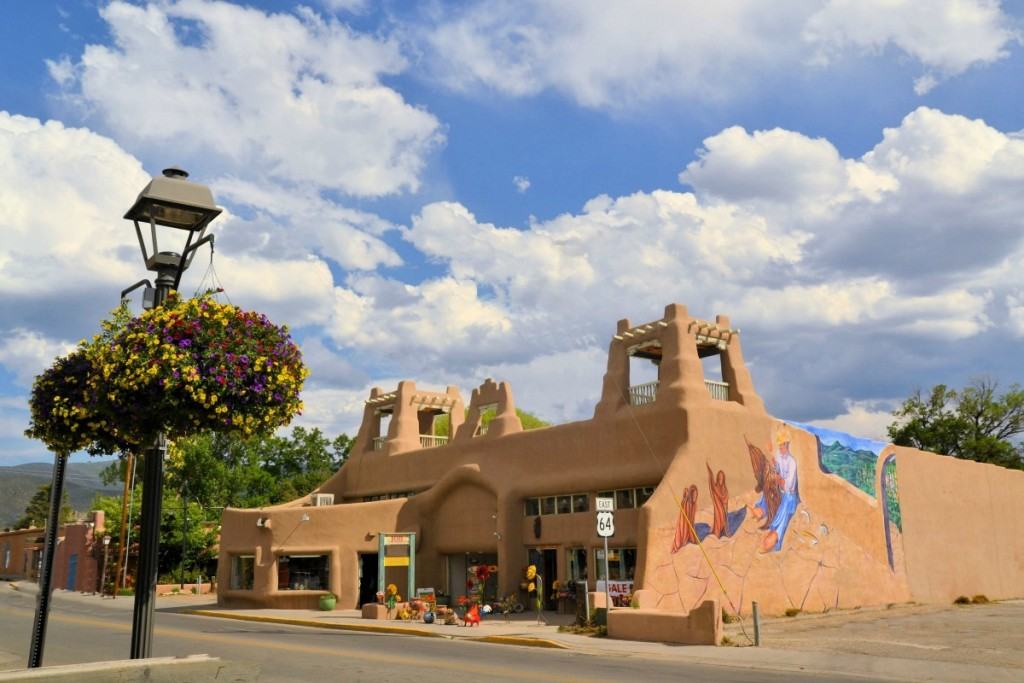 The Harwood Museum in Taos, New Mexico